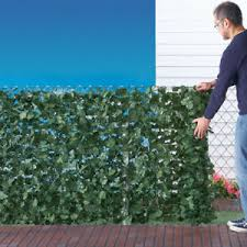 3 Ft X 7 Ft Beautiful Faux Ivy Privacy Porch Fence Screen Ebay