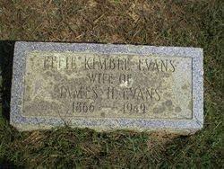 Effie Kimble Evans (1866-1949) - Find A Grave Memorial
