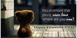 sad valentines day breakup sms quotes poems messages for ex girl