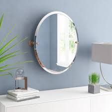wrought studio anya frameless oval