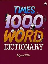 Times One-Thousand Words Dictionary by Myra Ellis (1992, Paperback) for  sale online | eBay