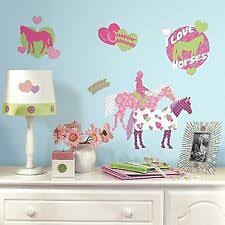 Horses Kids Teens Bedroom Playroom Dorm Decor For Sale Ebay
