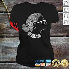 Notorious RBG Shirt Ruth Bader Ginsburg Quotes Feminist Gift -  tintinshirt.com
