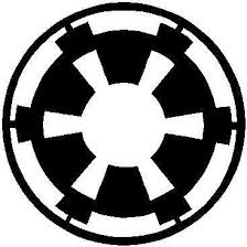 Star Wars Imperial Logo Decal Sticker