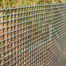 Plastic Garden Fencing 1m X 25m Green 5mm Green Netting Fence Mesh Ideal For Plant Vegetable