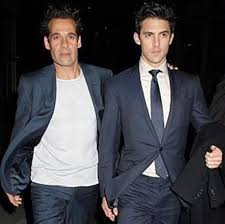 Adrian Pasdar and Milo Ventimiglia: Out and About in London - TV ...