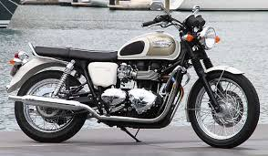 triumph bonneville hails good old days