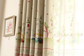 Kids Blackout Cartoon Or Nursery Room Window Curtains Pictures
