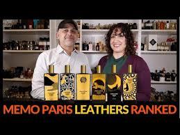 memo paris leather perfumes ranked