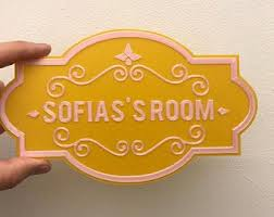 Kids Room Door Sign Etsy