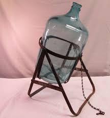 5 gallon aces blue glass carboy water