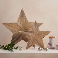 rustic star ornament gift
