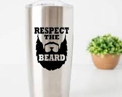 Beard Car Decal Etsy