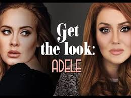 adele o inspired makeup and hair