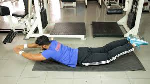 work out your back without weights