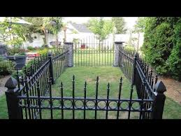 Cemetery Fence For Halloween Youtube