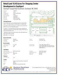 Retail Land 16.40 Acres For Shopping Center Development in Southport
