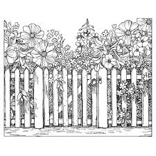 Shop Crafty Individuals Unmounted Rubber Stamp 4 75 X7 Pkg Beyond The Picket Fence Overstock 9656767