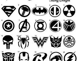 Marvel Car Decal Etsy