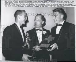 1963 Press Photo Supreme Court Justice Byron White Honored at ...