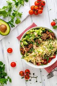 keto taco salad a low carb salad with