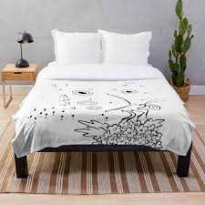 Connect The Dots Butterfly Puzzle Art Childrens Room Decor Throw Blanket By Geekuniverse Redbubble