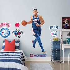 The Sixers Philadelphia 76ers Wall Decal Sticker Vinyl Decor Sports Logo Nba