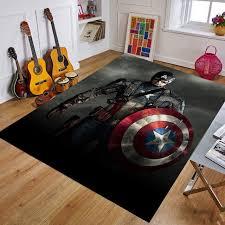 Hot Offer Ca3c Cartoon Baby Playmat The Avengers Marvel Iron Man Kids Rug Carpet Floor Bedroom Doormat Non Slip Mat Birthday Gift Cicig Co