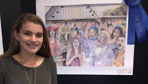 duPont Manual student wins Kentucky Derby Museum art contest