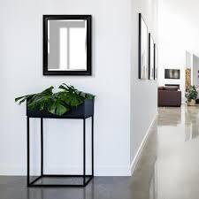 woodgrain blackwash framed beveled wall