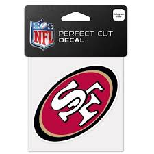 San Francisco Forty Niners 49ers Nfl Decals From Flags Unlimited Us Flags