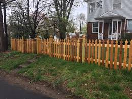 Custom Wood Fence Installation Fence Style Builders Fence Company