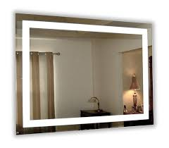 lighted vanity mirror wall mount led