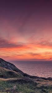 ocean sunset wallpaper iphone