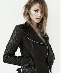 the perfect black biker leather jacket