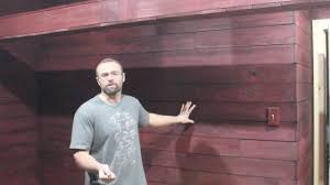 Try Fence Pickets For Cabin Walls Youtube
