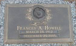 Frances Adele Howell (1912-2003) - Find A Grave Memorial