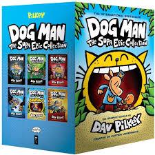 Amazon.com : [Dav Pilkey] Dog Man: The Supa Epic Collection ...
