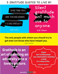 gratitude quotes powerful sayings on being thankful
