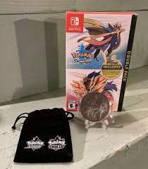 Pokemon Sword and Shield Double Pack Brand NEW Sealed Coin Bundle ...