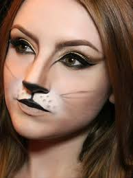 simple cat makeup ideas for halloween