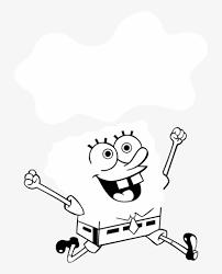 Terrific Black And White Spongebob Pictures Squarepants Spongebob Squarepants Vynil Car Sticker Decal Select Png Image Transparent Png Free Download On Seekpng