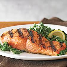 Grilled Salmon with Kale Sauté Recipe ...