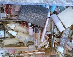 makeup drawer and bathroom organization