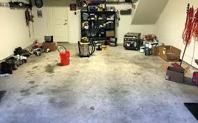 grinding versus acid etching garage