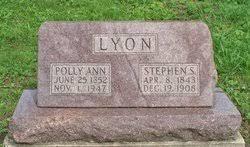 "Mary Ann ""Polly"" Fowler Lyon (1852-1947) - Find A Grave Memorial"