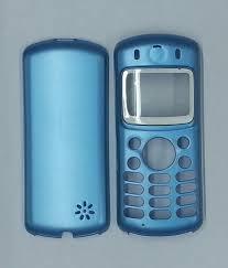 Carcasa Motorola C333 Celeste Completa ...