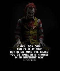 """the joker on instagram """"comment villain letter by letter for"""