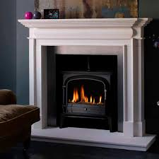 gas fireplace traditional open