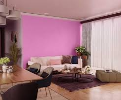 pink flower house paint colour shades